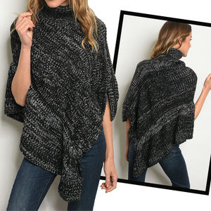 Sweaters - LOVELY PONCHO